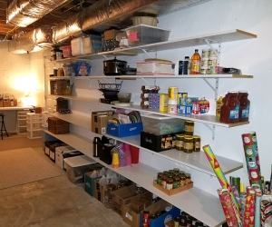 Basement Organization