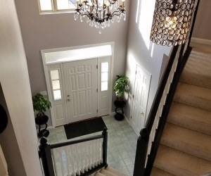 Entryway, Dining Room, and Family Room Facelift